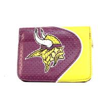 Minnesota Vikings NFL Perf-ect  Team Colors & Logo Money/Card Wallet  - $11.83