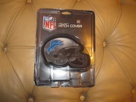NEW NFL DETRIOT LIONS TEAM LOGO HELMET TRAILER HITCH COVER BLUE TRUCK  S... - $5.93