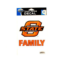 NCAA  Decal Oklahoma State Team Logo Team Pride Family Decal - Cowboys Auto - $5.44