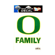 NCAA  Decal Oregon Ducks  Team Logo Team Pride Family Decal - Green Yell... - $5.44