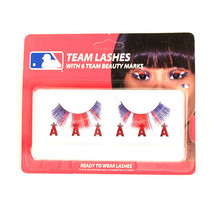 MLB Los Angeles Angels Eyelash Extension Little Earth Decal Beauty Red ... - $8.90