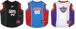 NBA Pet Mesh Tank Top Phoenix Suns, Detroit Pistons or Philadelphia 76'ers NWT - $12.99