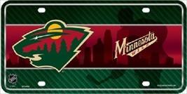 "Minnesota Wild  Vanity License Plate Tag  6""x 12"" Metal Auto Stanley Cup New NHL - $13.81"