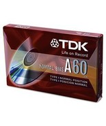 TDK Audiocassettes Superior Normal Bias D60 (Discontinued by Manufacturer) - $6.92