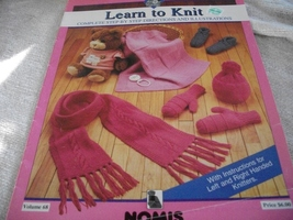 Learn To Knit Volume 68 - $5.00