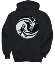 Ying-Yang Dragon Hoodie - FREE Shipping! - $39.95