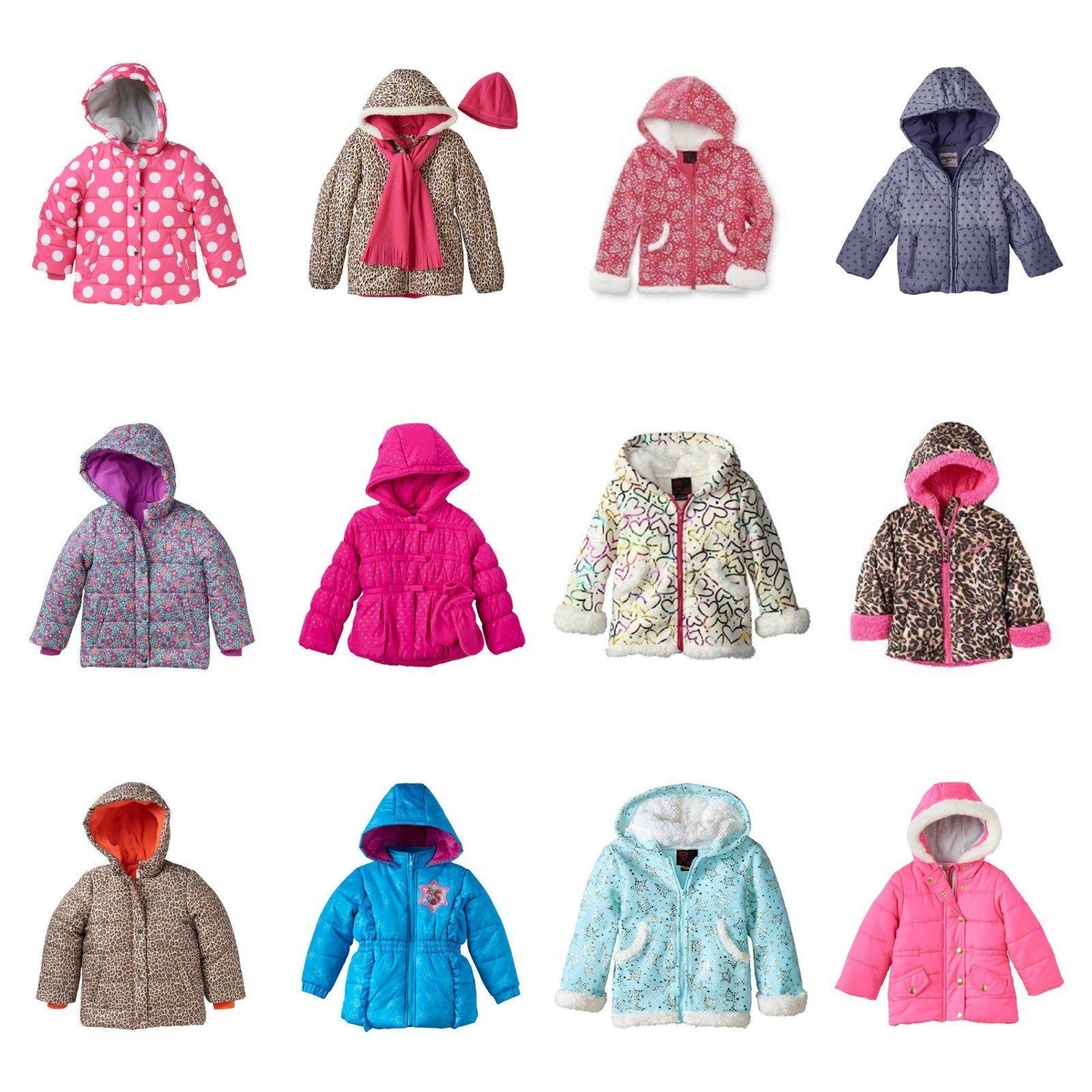 0ac454642ef7 NWT Toddler Girl Puffer Coat Jacket Oshkosh and 12 similar items