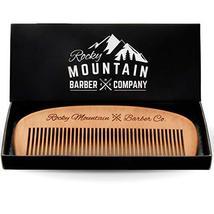 Hair Comb - Wood with Anti-Static & No Snag Handmade Brush for Beard, Head Hair, image 4