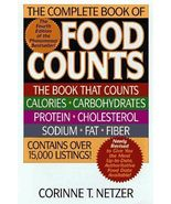 The Complete Book of Food Counts by Corinne T. Netzer Hard Cover w/Dust ... - $25.17