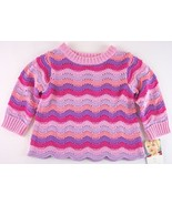 NWT Carter's Girl's Pink & Lavender Soft Ripple... - $12.99