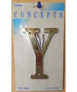 """Taymor Concepts 27-BL6Y Solid Brass 6"""" House Letter Y - $3.96"""