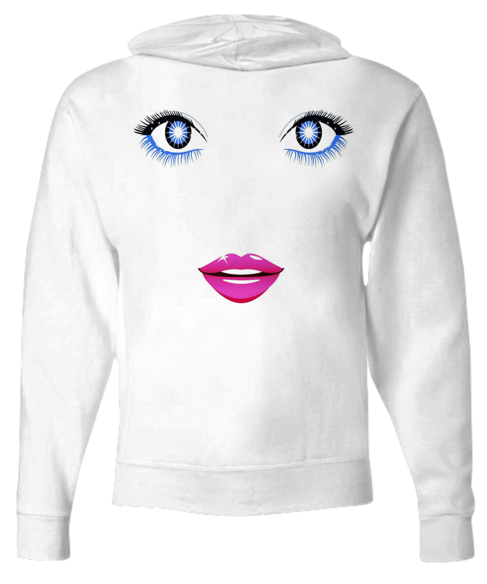 Sexy Eyes - Funny Zip Hoodie - FREE Shipping!