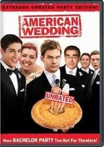 DVD - American Wedding (Full Screen Extended Unrated Party Edition) DVD  - $5.13