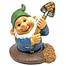 Shoveling Sam, the Garden Gnome Statue - $37.70