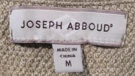 Joseph Abboud Argyle 100% Cotton Sweater Vest - Tan Grey White - Men's M image 3