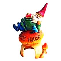 Gnome' Frog House Garden Statue - $32.00