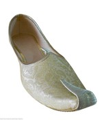 Mojaries Men Shoes Wedding Sherwani Jooti Handmade Flip-Flops US 6-9 - $54.99