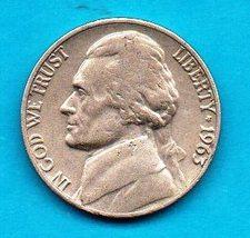 1963  Jefferson Nickel - Light Wear - $0.05