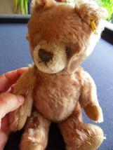 Steiff Teddy bear mohair  bear button flag Germany 350 - $46.74