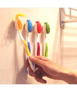 Anti-Dirt Bathroom Wall Suction  Toothbrush Org... - $1.39