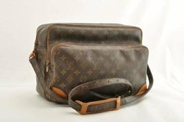 LOUIS VUITTON Monogram Nile 34 Shoulder Bag M45242 LV Auth th017 Sticky - $345.27