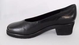 Shoes Heels Black Leather Pumps Etienne Aigner ... - $11.95
