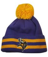 NFL Minnesota Vikings Kid's Breakaway Knit Bean... - $11.95