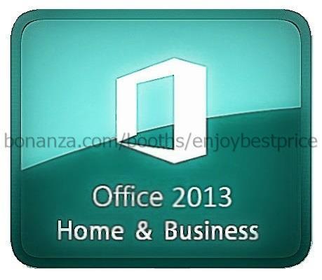 microsoft office 2013 home business 32 64 bit lifetime. Black Bedroom Furniture Sets. Home Design Ideas