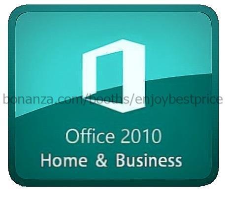 microsoft office 2010 home business 32 64 bit lifetime. Black Bedroom Furniture Sets. Home Design Ideas