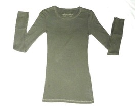 Arizona Jean Company Size Jr. Xsmall Olive Tan Tee Shirt - $7.99