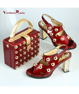 Westernrain New design African shoes and matchi... - $167.59 - $202.59