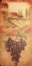 WINE Theme PLACEMATS Set of 4 Vinyl Foam Vino winery vineyard grapes NEW image 3