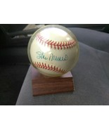 stan musial autographed baseball - $67.99