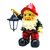 Edison with the Lighted Lantern Garden Gnome Statue (Available 7/31/2020) - $62.39