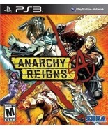 PLAYSTATION 3 PS3 GAME ANARCHY REIGNS BRAND NEW & FACTORY SEALED - $8.19