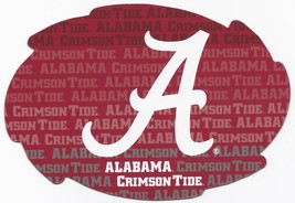 "NCAA Alabama Crimson Tide 5""x6"" Officially Licensed Team Color Swirl Magnet - $6.95"