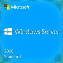 Microsoft Windows Server 2008 Standard SP2 32 6... - $37.23