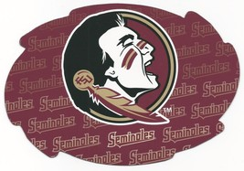 """NCAA Florida State Seminoles 5""""x6"""" Officially Licensed Team Color Swirl ... - $6.95"""