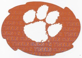 """NCAA Clemson Tigers 5""""x6"""" Officially Licensed Team Color Swirl Magnet - $6.95"""