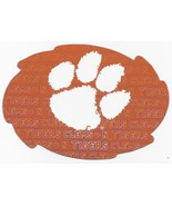 "NCAA Clemson Tigers 5""x6"" Officially Licensed Team Color Swirl Magnet - $6.95"