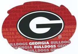 """NCAA Georgia Bulldogs 5""""x6"""" Officially Licensed Team Color Swirl Magnet - $6.95"""