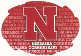 "NCAA Nebraska Cornhuskers 5""x6"" Officially Licensed Team Color Swirl Magnet - $6.95"
