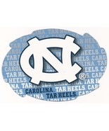 "NCAA North Carolina Tarheels 5""x6"" Officially Licensed Team Color Swirl ... - $6.95"
