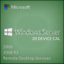 Microsoft Windows Server 2008 R2  Remote Deskto... - $83.29