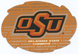 """NCAA Oklahoma State Cowboys 5""""x6"""" Officially Licensed Team Color Swirl Magnet - $6.95"""