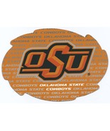 "NCAA Oklahoma State Cowboys 5""x6"" Officially Licensed Team Color Swirl M... - $6.95"