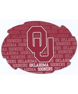 "NCAA Oklahoma Sooners 5""x6"" Officially Licensed Team Color Swirl Magnet - $6.95"
