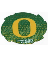 """NCAA Oregon Ducks 5""""x6"""" Officially Licensed Team Color Swirl Magnet - $6.95"""