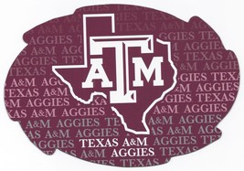 """NCAA Texas A&M Aggies 5""""x6"""" Officially Licensed Team Color Swirl Magnet - $6.95"""