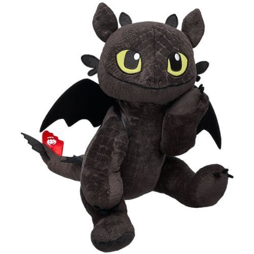 "Build A Bear Workshop Toothless 17"" Dragon"